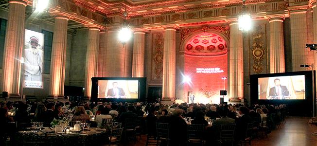 Audience of  RI Anniversary Dinner 